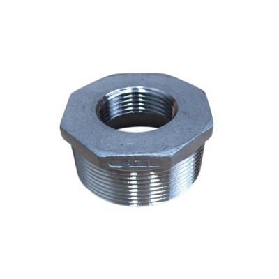 50mm X 25mm Bush Reducing BSP Stainless Steel 316 150lb