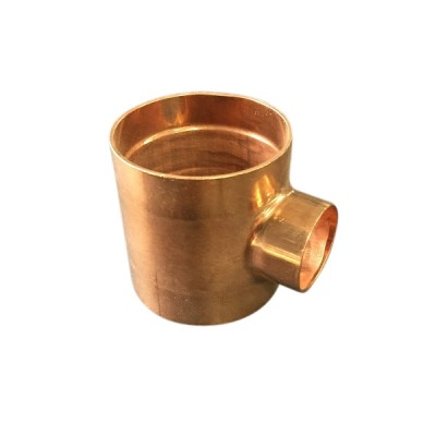 50mm X 25mm Copper Tee Reducing