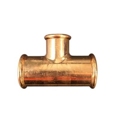 50mm X 25mm Reducing Tee Kempress Gas