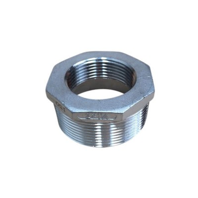 50mm X 32mm Bush Reducing BSP Stainless Steel 316 150lb