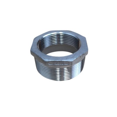 50mm X 40mm Bush Reducing BSP Stainless Steel 316 150lb