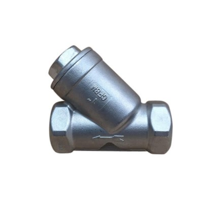 50mm Y Strainer Valve 316 Stainless Steel F&F