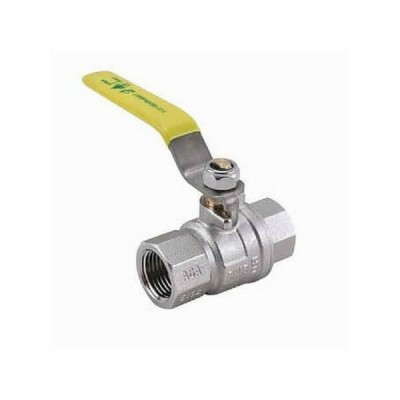 65mm Gas Lever Ball Valve F&F AGA Approved