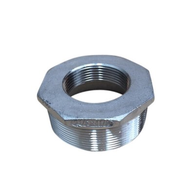 65mm X 40mm Bush Reducing BSP Stainless Steel 316 150lb