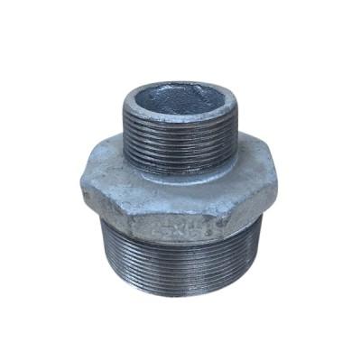 65mm X 40mm Galvanised Hex Nipple Reducing