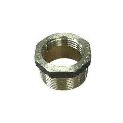 "6mm 1/4"" X 3mm 1/8"" Brass Bush BSP"