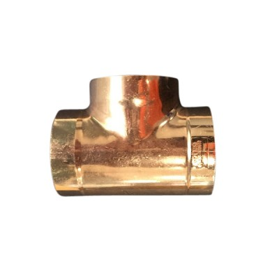 80mm Copper Tee Equal