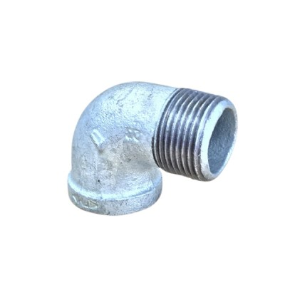 80mm Galvanised Elbow M&F