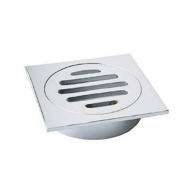 80mm Shower Floor Grate Cp Square Drop In Suit Pvc