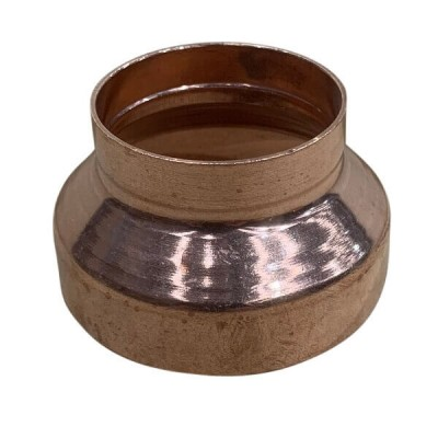 80mm X 50mm Copper Reducer M x F High Pressure Capillary