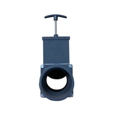 90mm PVC Sliding Gate Valve Suit Stormwater Pipe
