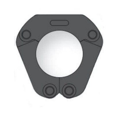 AusPress 80mm Copper Press Collar V-Profile Suit Novopress ACO203 Tool NP.PKC.080