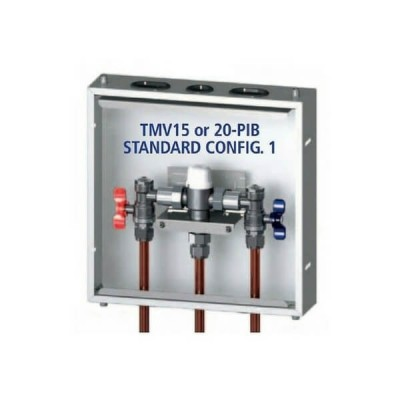 AVG Thermostatic Mixing Valve in Stainless Box TMV20-PIB 20mm
