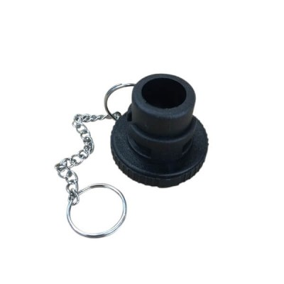 Bayonet Safety Plug Black Plastic Bromic 1510957