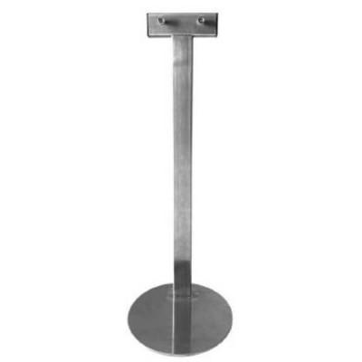 Bradley 68004 Desktop Mount Clean Hands Sanitizer Stand Satin Stainless Steel
