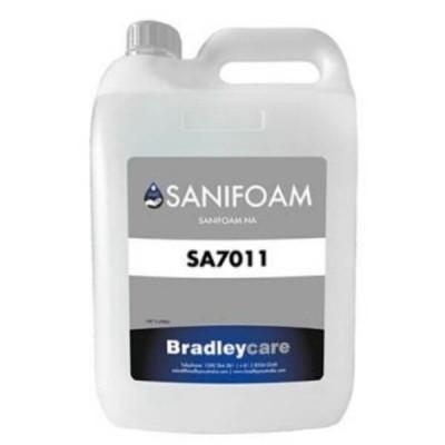 Bradley Sanifoam Hand Sanitiser Foam 5 Litre SA7011