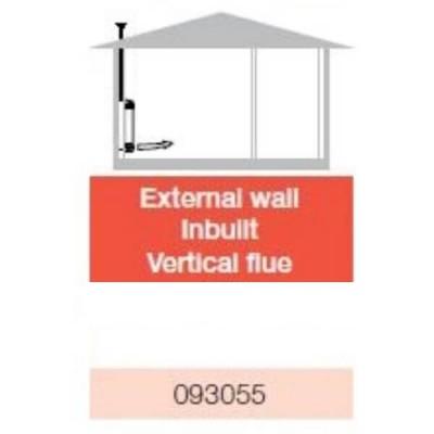 Braemar Eco Superstar Flue Kit Wall Cavity 3600mm 093055