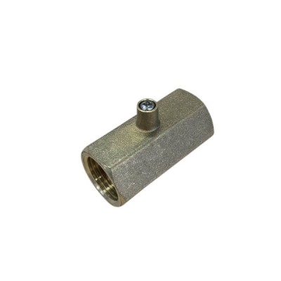 "Bromic Test Point Adaptor 1/2"" Bsp Female X 1/2"" Bsp Female Flare 6160452"
