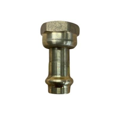 """15mm 1/2"""" X 1/2"""" BSP Loose Nut Adaptor No 62 Gas Copper Press"""