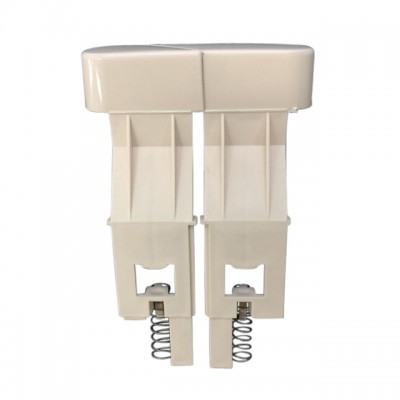 Caroma 233131I Slimline Toilet Cistern Button Dual Flush Ivory