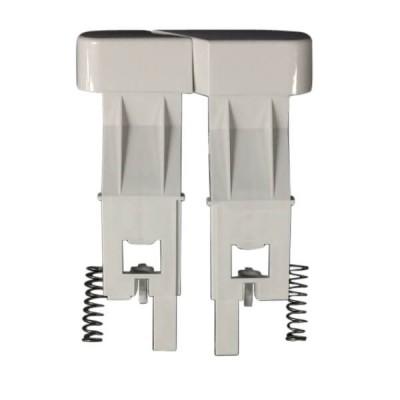 Caroma Slimline Toilet Cistern Button Dual Flush White 233131W