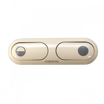 Caroma 2000 Series Elongated Toilet Cistern Button Ivory 405167I