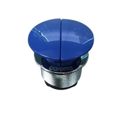 Caroma 416020SB Round Care Cistern Button Dual Flush Blue