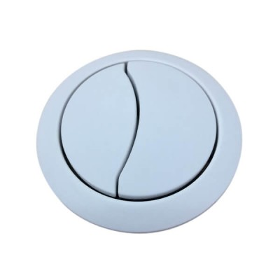 Caroma Clark White Toilet Cistern Dual Flush Button Round CL60007.W