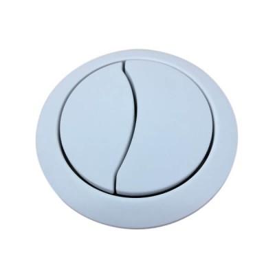 Caroma Clark White Toilet Cistern Dual Flush Button Round CL60007.W