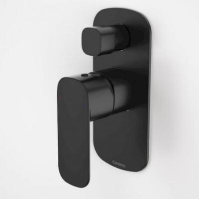 Caroma Contura Bath Shower Mixer Diverter Matte Black 99586B