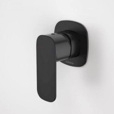 Caroma Contura Bath Shower Mixer Matte Black 99585B