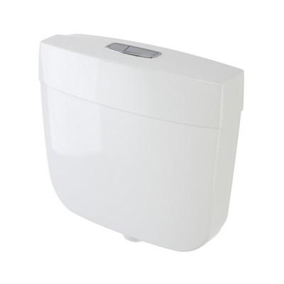 Caroma Slimline Dual Flush Toilet Cistern 6/3 Litre Mid-Low Level 233036W