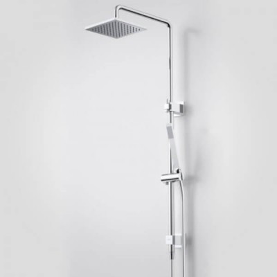 Caroma Track Rail Shower with Overhead 90212C3A