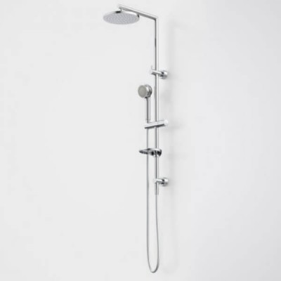 Caroma Urbane Rail Shower with Overhead Multifunction Chrome