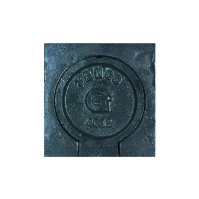 Cast Iron Round Gas Valve Stop Box 140mm X 135mm