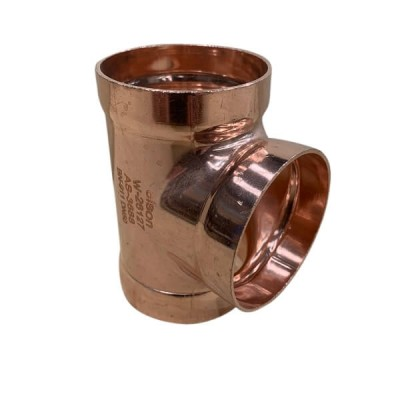 """125mm 5"""" Copper Tee Equal High Pressure Capillary"""