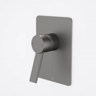 Dorf Villa Bath Shower Mixer Gunmetal Grey 6903.91