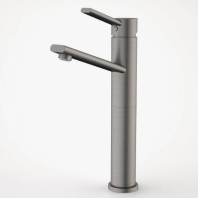 Dorf Villa Tower Basin Mixer Gunmetal Grey 6902.915A