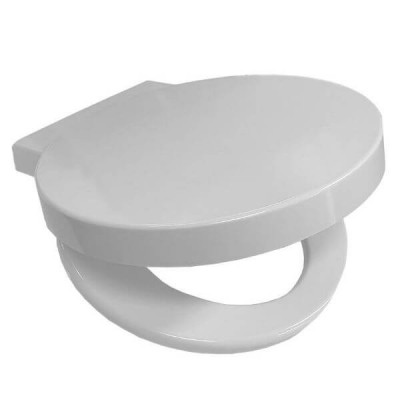 Dover Toilet Seat White Soft Close Metal Hinges Suits Caroma Geo Toilet Suites