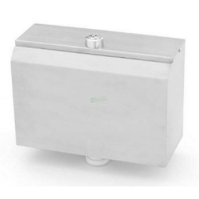 Dual Flush Cistern Bottom Entry Stainless Steel AB-CIS-DF