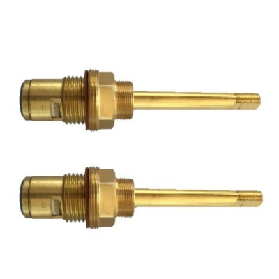 Easytap TZ3008 1/2 Turn Donson Wall Spindles Clockwise Close Flat Side Gold