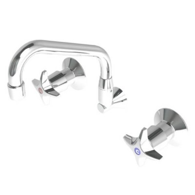 Enware CS Recess Wall Set With SP110 Swivel Spout Jumper Valve CS315