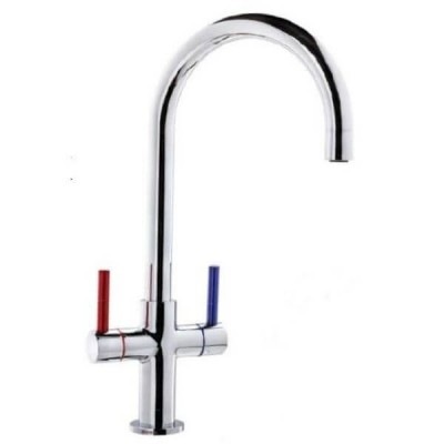 Ewing Esee Twinner Sink Mixer Chrome 5 Star 6L/Min MTE03