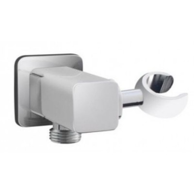 Ewing Cecilia Wall Shower Elbow With Ball Joint Chrome HSA17
