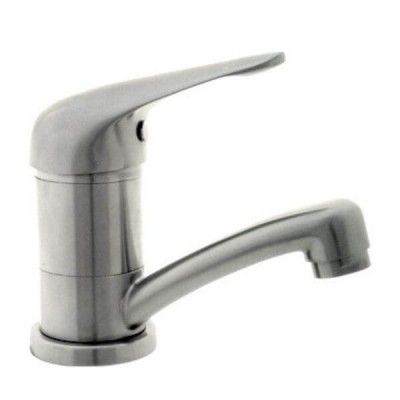 Ewing Classic Swivel Basin Mixer Satin Stainless SMX531
