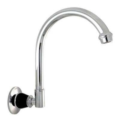 Ewing Pasadena Wall Swivel Outlet Chrome Satin Black TPA60B