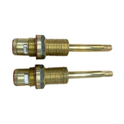 Ewing Wall Recess Spindles Gold 1/4 Turn Ceramic Disc SBA42