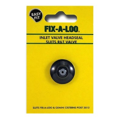 Fixaloo R&T Gemini Headseal Inlet Valve Washer (Card) 216021