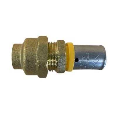 20 X 20mm Flared Copper Adaptor Gas Water Pex