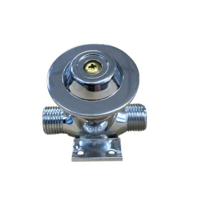 Foot Valve Body Angled 45 Degree Chrome GSAI25XA